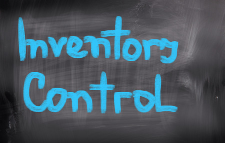 inventory: Inventory Control Concept Stock Photo