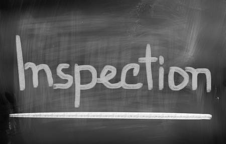 home inspector: Inspection Concept Stock Photo