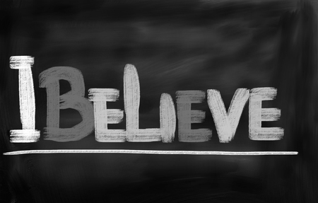 make belief: I Believe Concept