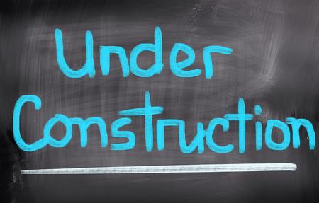 construction concept: Under Construction Concept