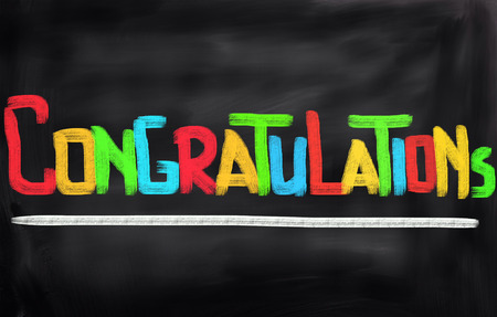 congratulations: Felicidades Concepto