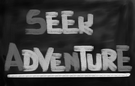 seek: Seek Adventure Concept Stock Photo