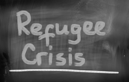 middle east crisis: Migration Concept