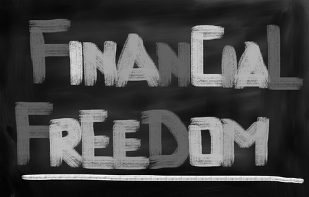 passive earnings: Financial Freedom Concept