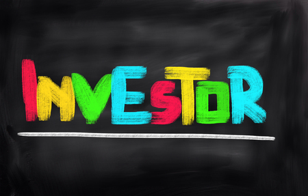 buy shares: Investor Concept Stock Photo