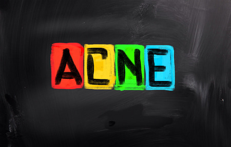 blackhead: Acne Concept
