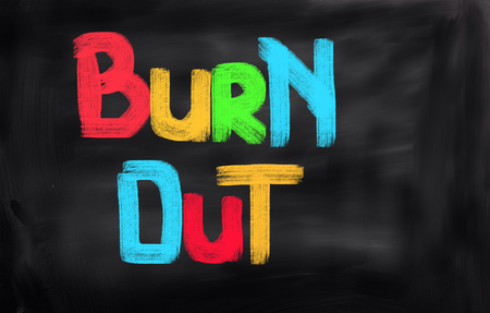 burn out: Burn Out Concept