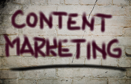 meta tags: Content Marketing Concept