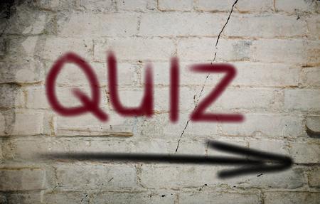 quiz: Quiz Concept Stock Photo