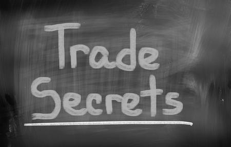 special operations: Trade Secrets Concept