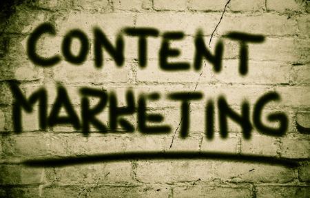 keywords link: Content Marketing Concept