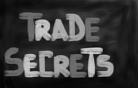undisclosed: Trade Secrets Concept