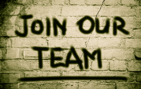our: Join Our Team Concept