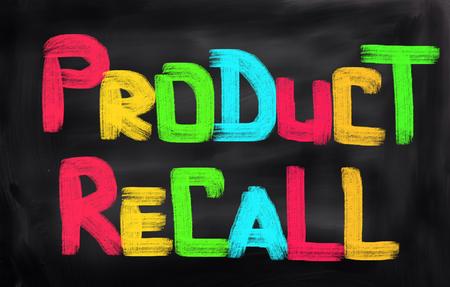 compulsory: Product Recall Concept