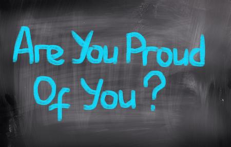 rewarded: �Eres orgulloso de ti Concepto