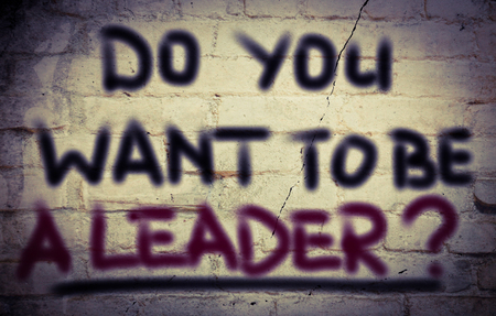 annoucement: Do You Want To Be A Leader Concept
