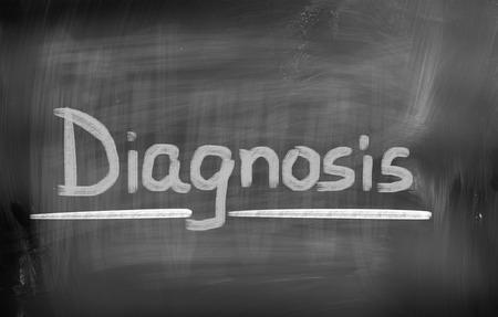 a diagnosis: Diagnosis Concept