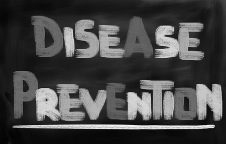 disease prevention: Disease Prevention Concept Stock Photo