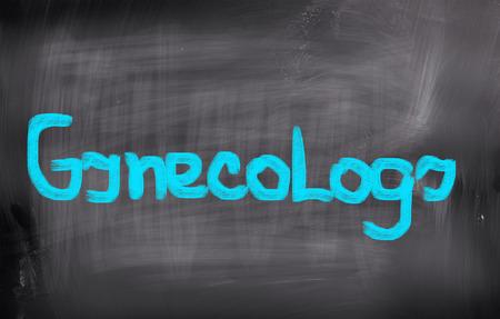 gynecology: Gynecology Concept Stock Photo