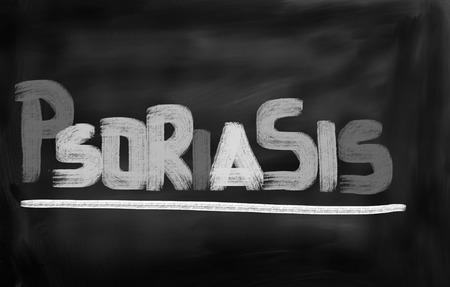 psoriasis: Psoriasis Concept Stock Photo