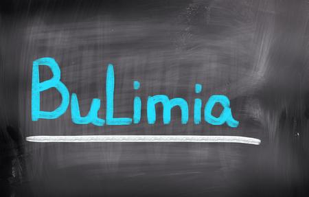 bulimia: Bulimia Concept Stock Photo