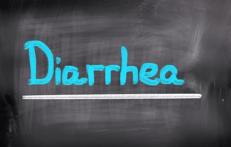 irritable bowel syndrome: Diarrhea Concept