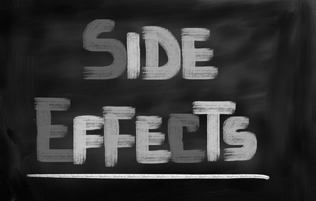 adverse reaction: Side Effects Concept Stock Photo