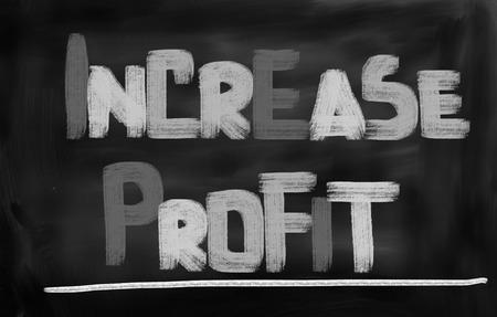 Increase Profit Concept