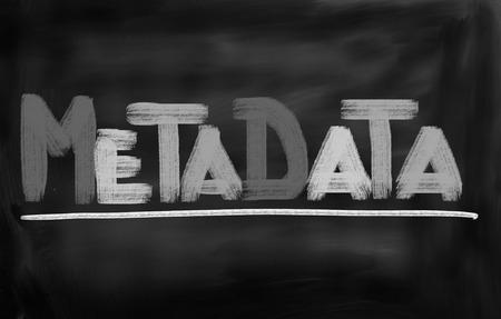 metadata: Metadata Concept