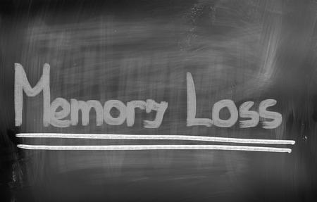 memory loss: Memory Loss Concept