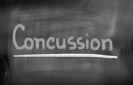 concussion: Concussion Concept Stock Photo
