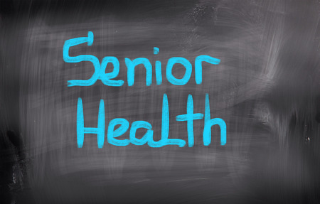 brain aging: Senior Health Concept Stock Photo