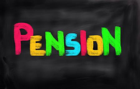 pension: Pension Concept