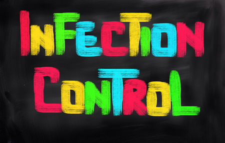 infection: Infection Control Concept Stock Photo