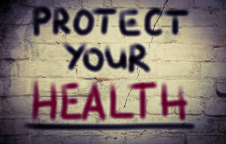 protect: Protect Your Health Concept