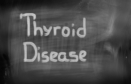 glands: Thyroid Disease Concept
