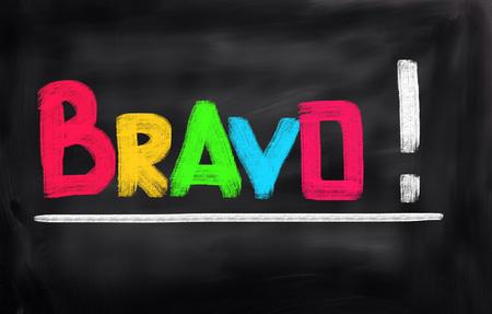 Bravo Concept Stock fotó - 50694625