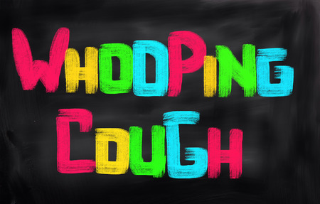 whooping: Whooping Cough Concept Stock Photo