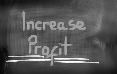 marketingplan: Increase Profit Concept