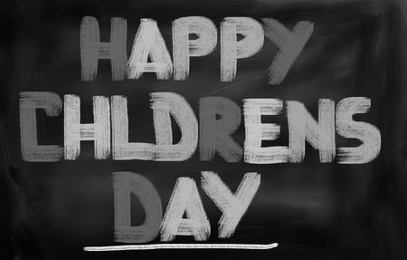 children's: Happy Childrens Day Concept