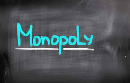 monopoly: Monopoly Concept Stock Photo