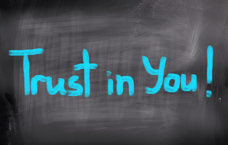 Trust In You Concept Stock Photo