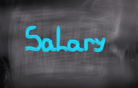 salary: Salary Concept Stock Photo