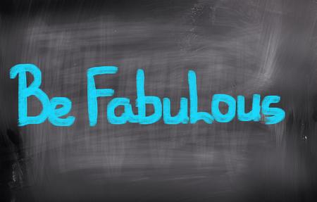 thursday: Be Fabulous Concept Stock Photo
