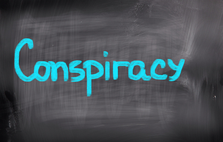 conspiracy: Conspiracy Concept Stock Photo
