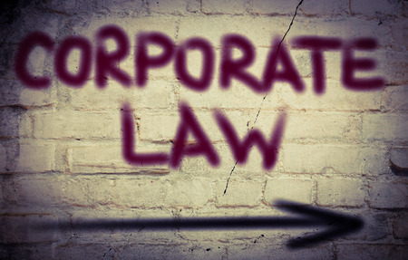 councilor: Corporate Law Concept Stock Photo