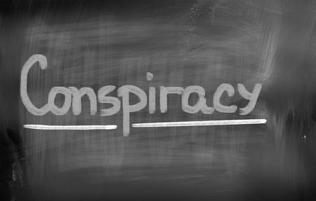 remuneration: Conspiracy Concept Stock Photo