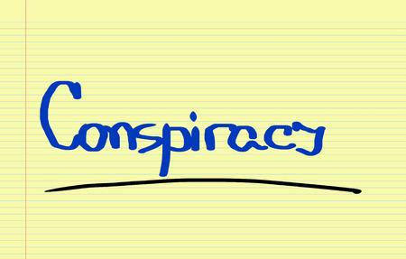 conspiracy: Conspiracy Concept Stock Photo