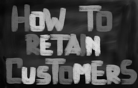 cause marketing: How To Retain Customers Concept