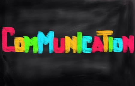 at communication: Communication Concept